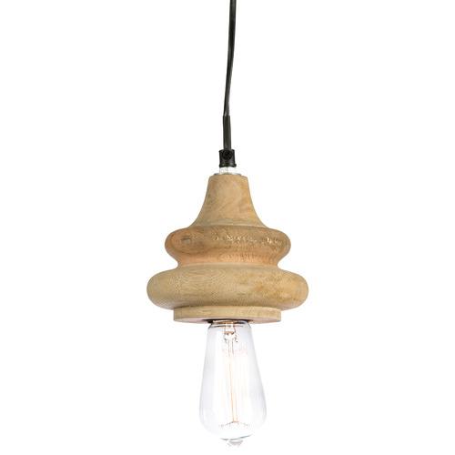 Coventry Mango Wood Pendant Light
