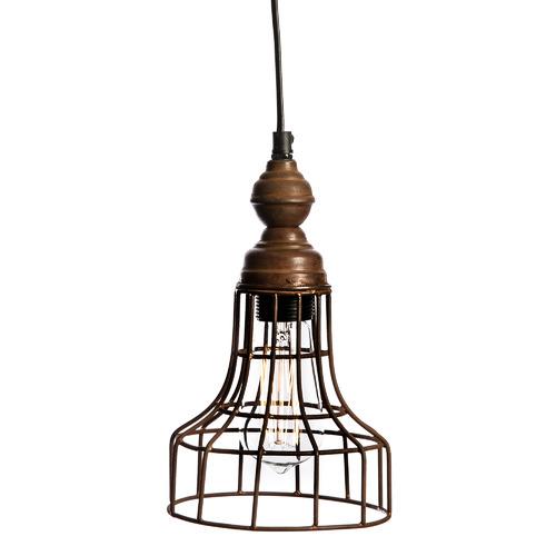 Vintage-Style Spencer Iron Pendant Light