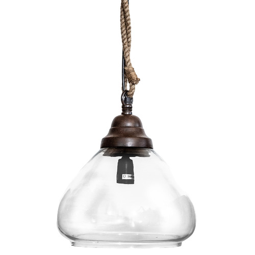 Olivier Dome Glass Pendant Light