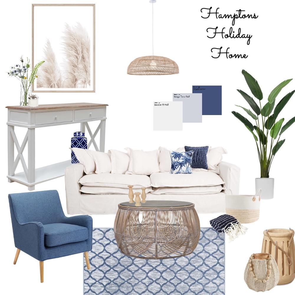 Hamptons Holiday Home Interior Design Mood Board by pari_saa on Style Sourcebook