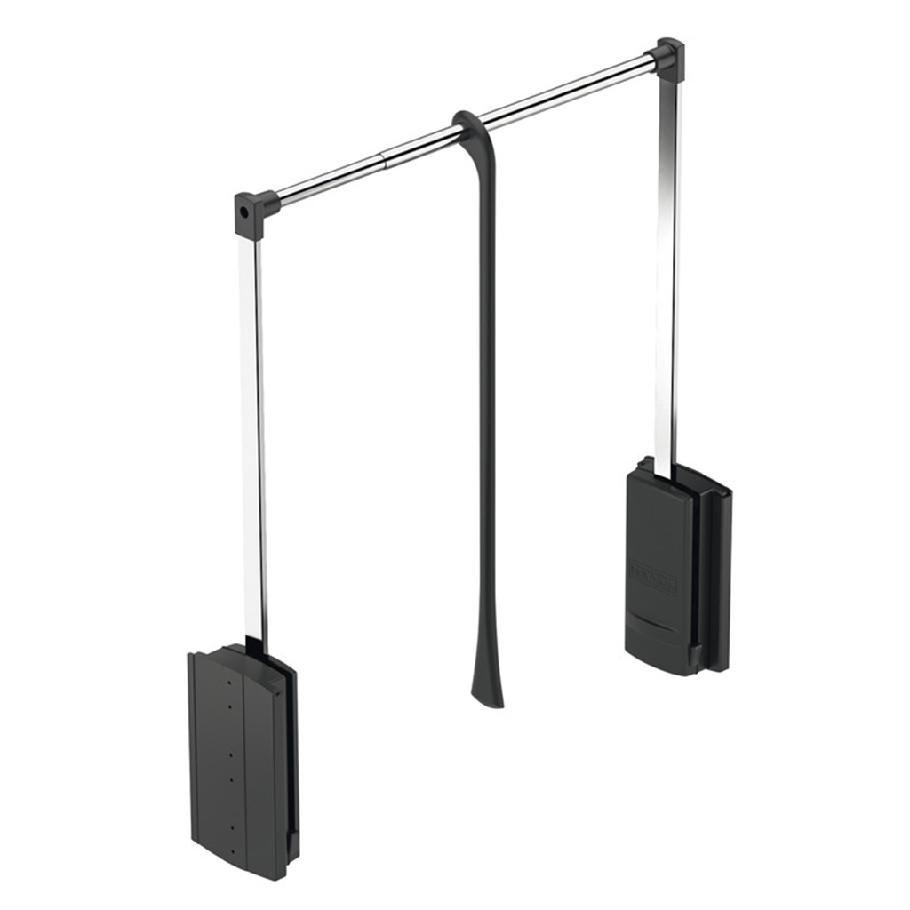 2004 Wardrobe Lift - Black Frame