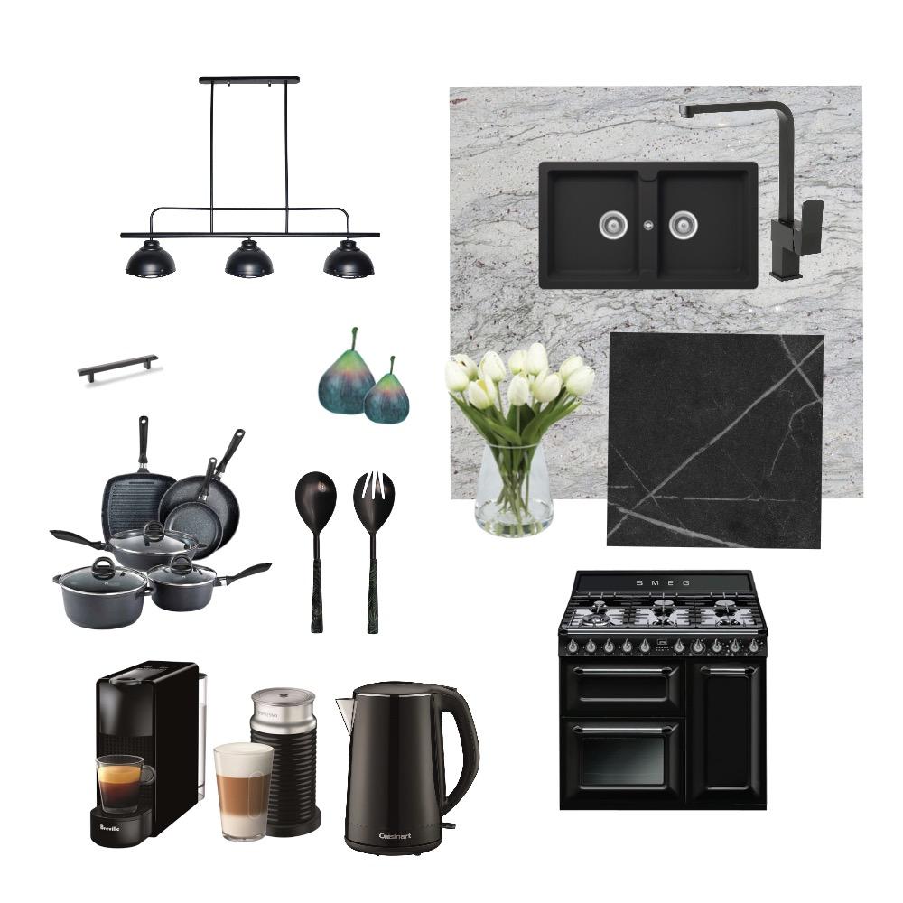 Kitchen_black Interior Design Mood Board by M.Design on Style Sourcebook