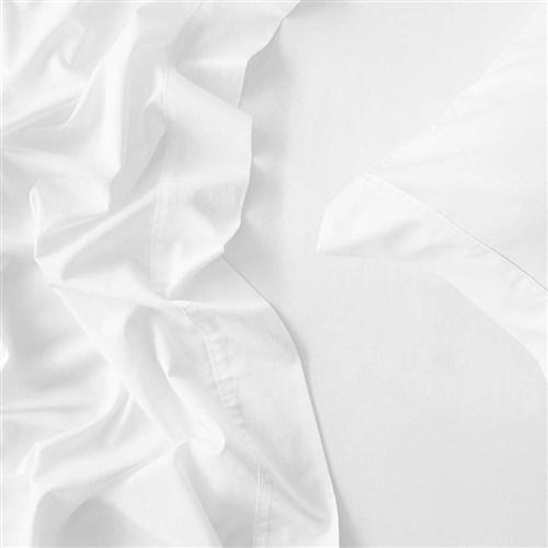 MyHouse Reyne Tencel Double Bed Sheet Set White