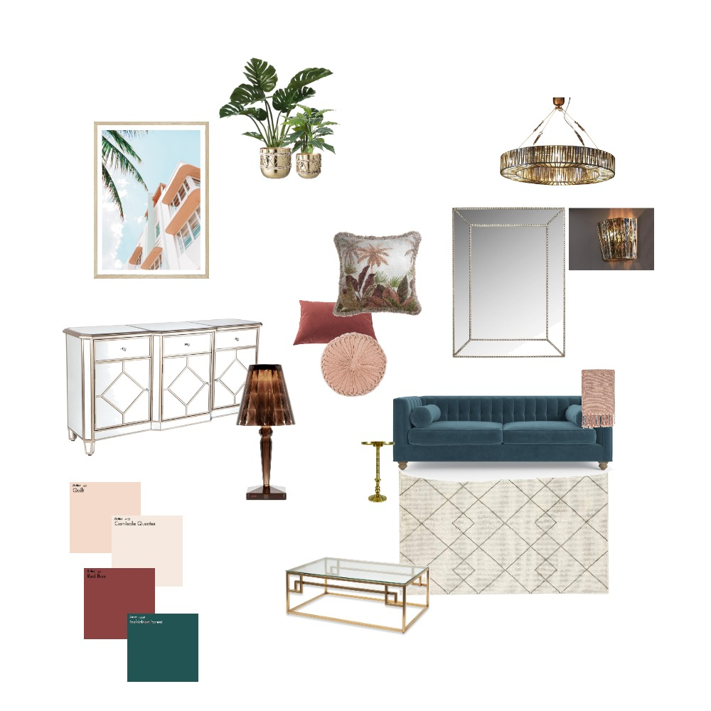 Art Deco Interior Design Mood Board by Bernadette Crome on Style Sourcebook