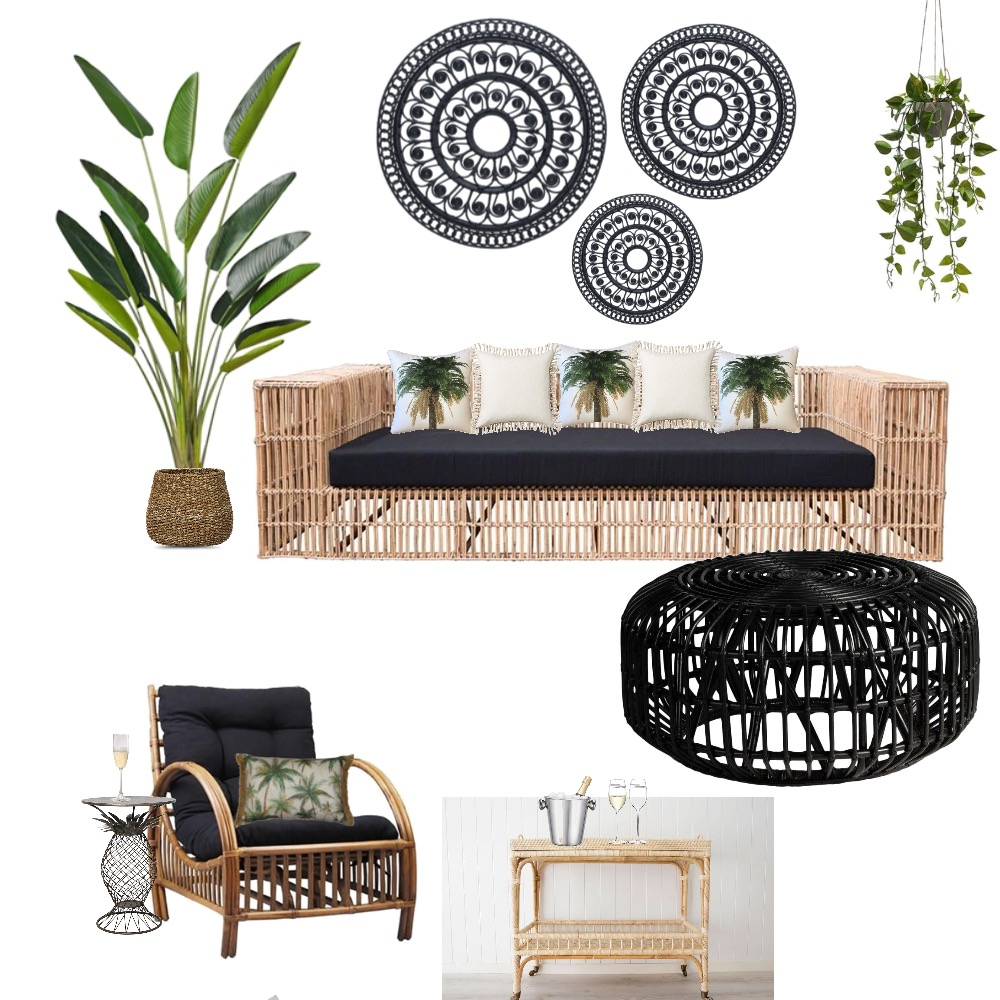 Tropical indoor/outdoor Interior Design Mood Board by Simplestyling on Style Sourcebook