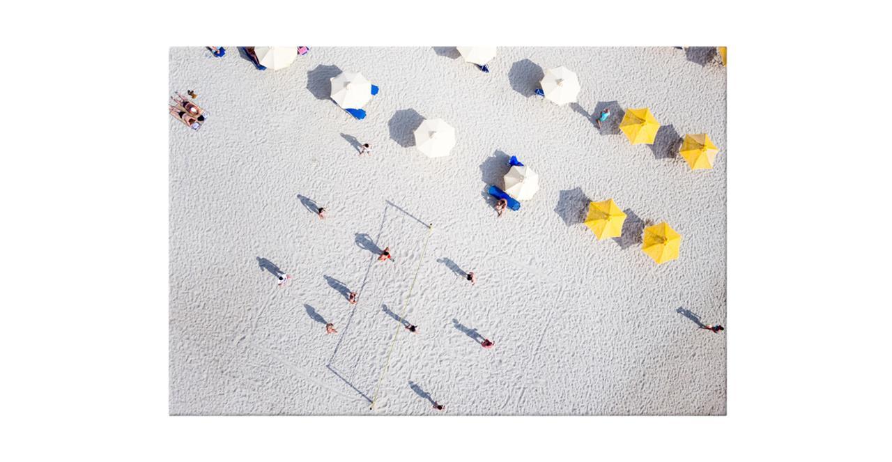 The Beach Print Canvas Medium