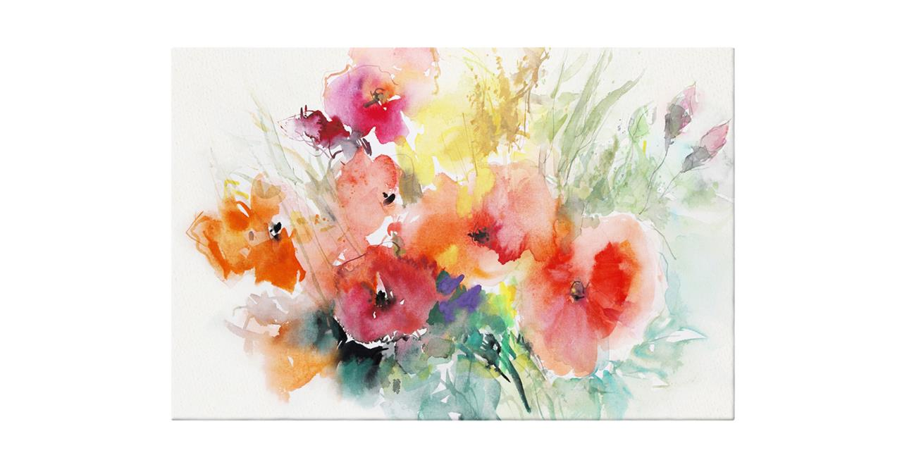 The Bouquet Print Canvas Medium