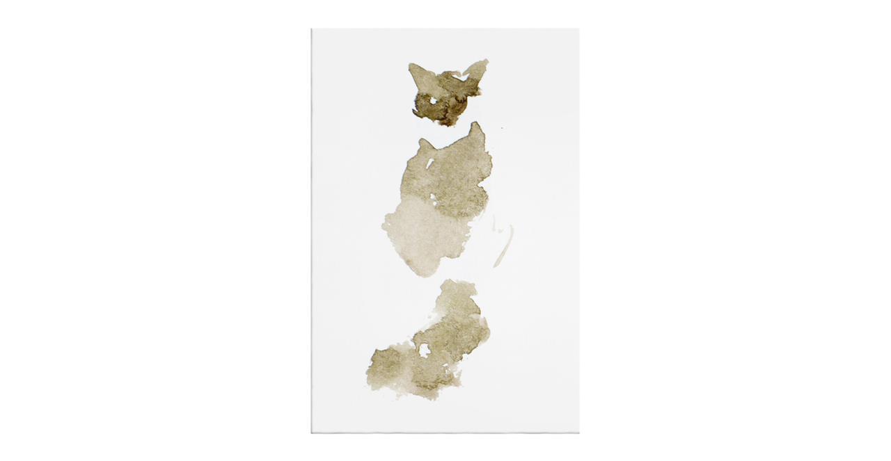 The Bronze Cat Print Canvas Small