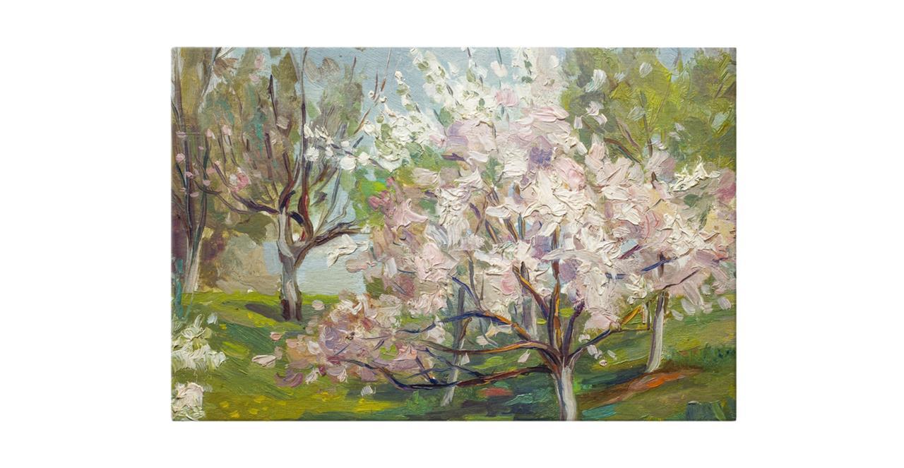 The Cherry Blossom Print Canvas Small