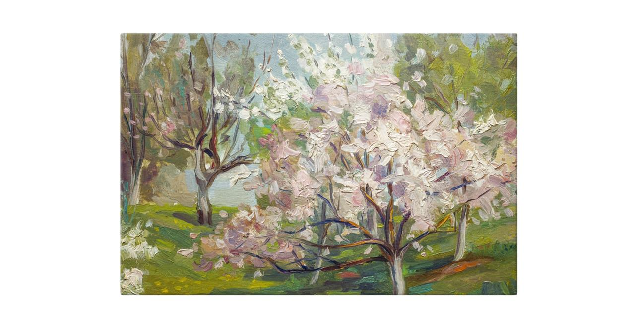 The Cherry Blossom Print Canvas Medium