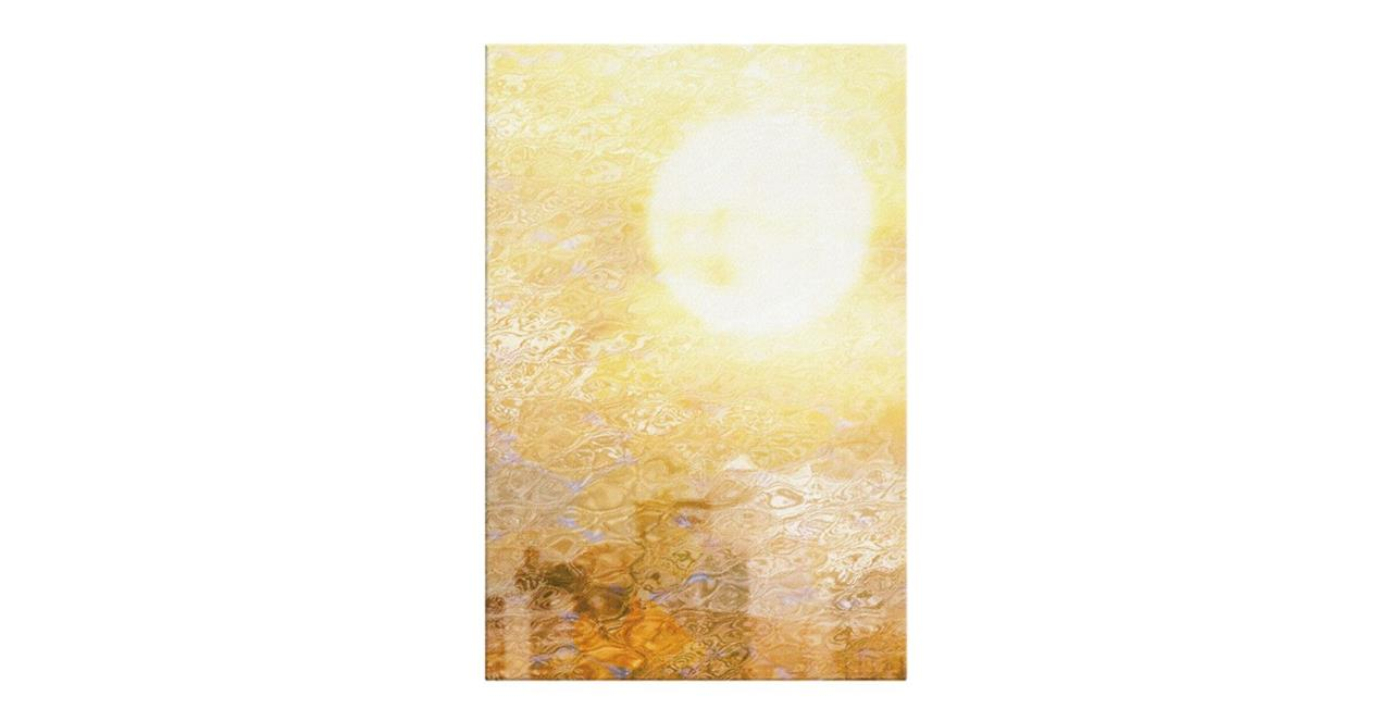 The City Sun Print Canvas Small Midday