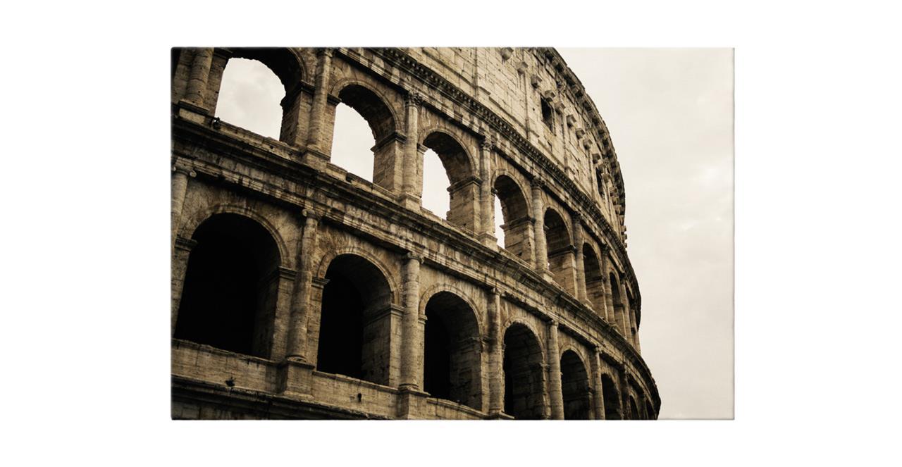 The Colosseum Print Canvas Small