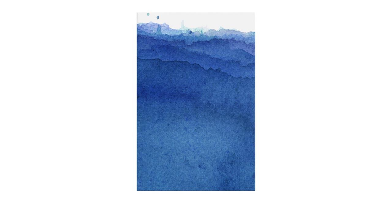 The Cyan Print Canvas Small Indigo