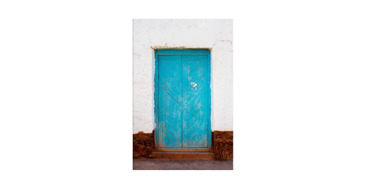 The Doorway Print Canvas Small