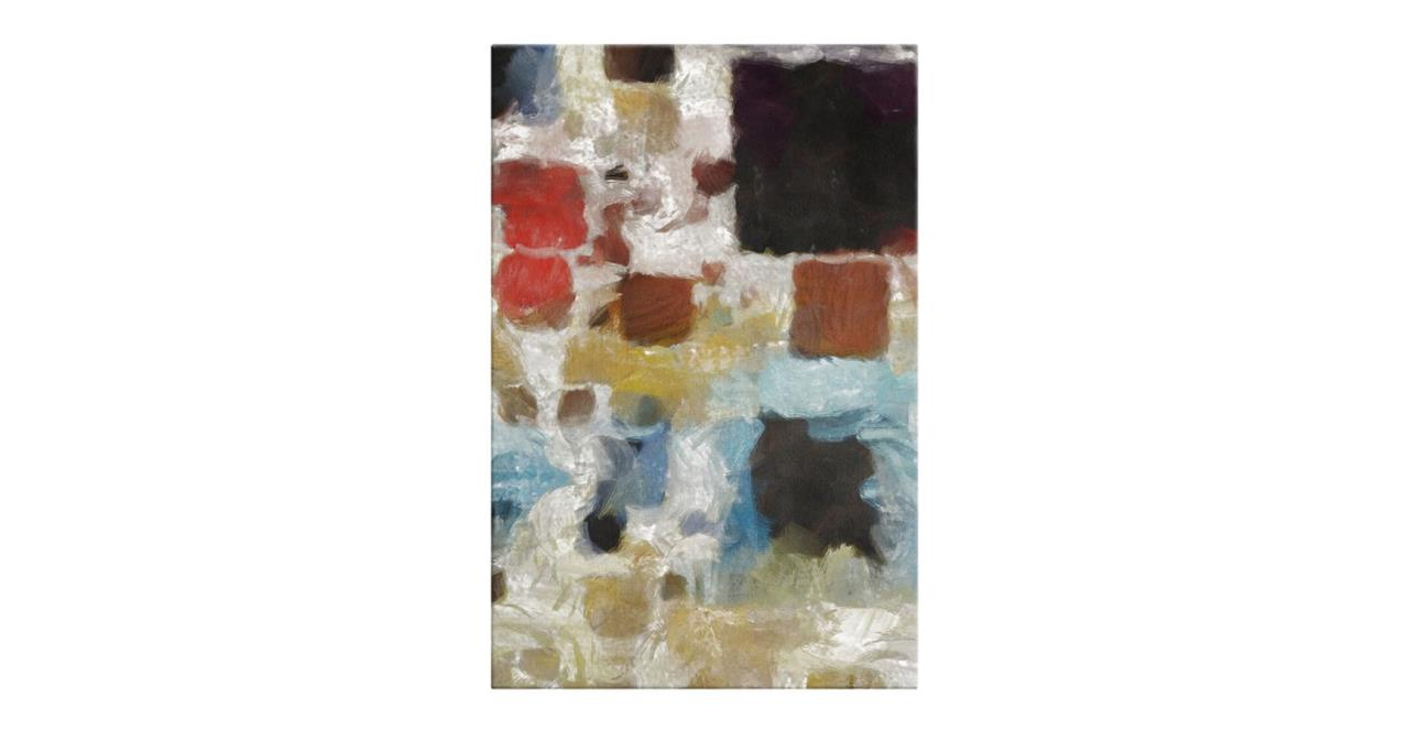 The Mosaic Print Canvas Medium Three