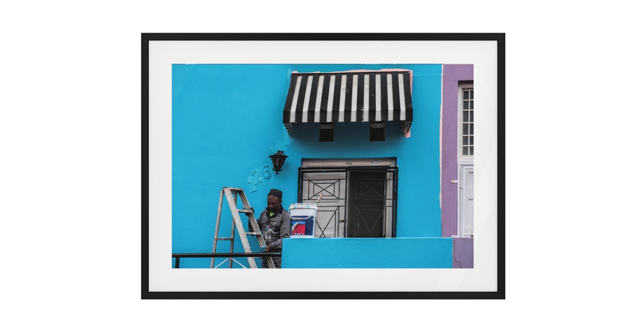 The Neighbourhood Print Black Wood Frame Small