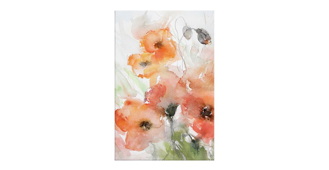 The Poppy Print Canvas Small