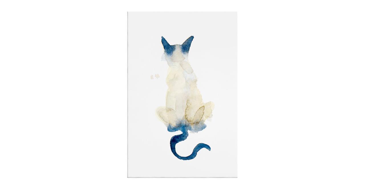 The Porcelain Cat Print Canvas Medium