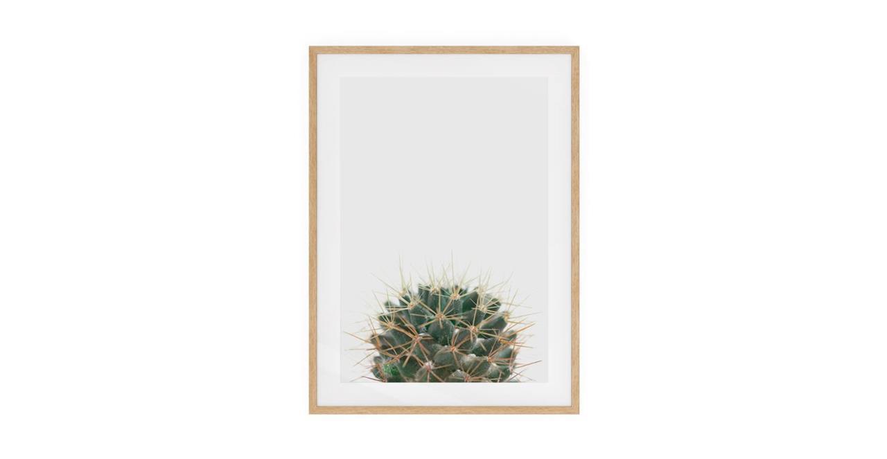 The Prickle Print Natural Wood Frame Medium Centre