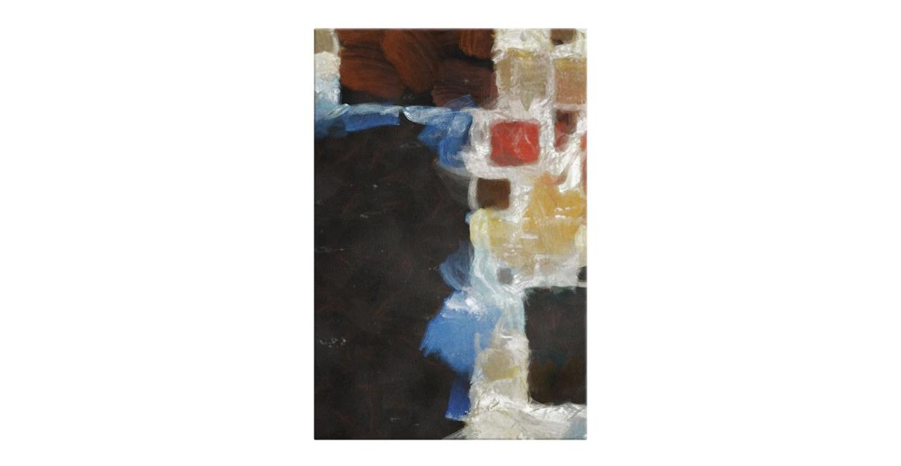 The Mosaic Print Canvas Small One