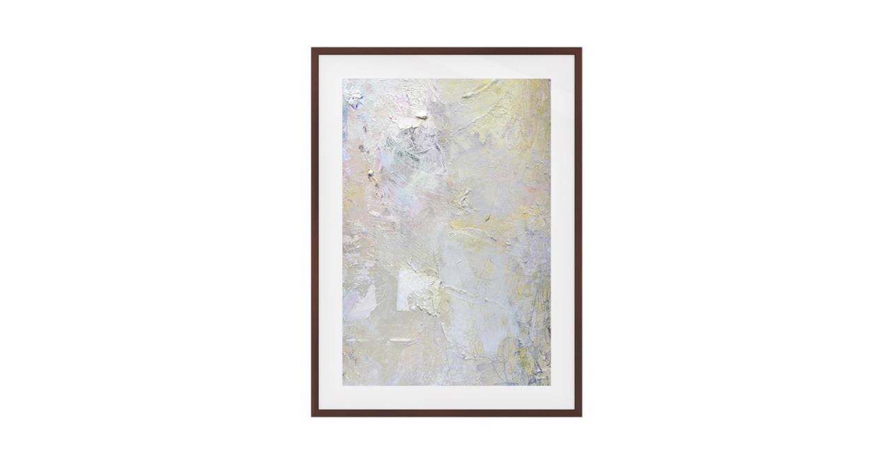 The Fawn Print Dark Brown Wood Frame Medium