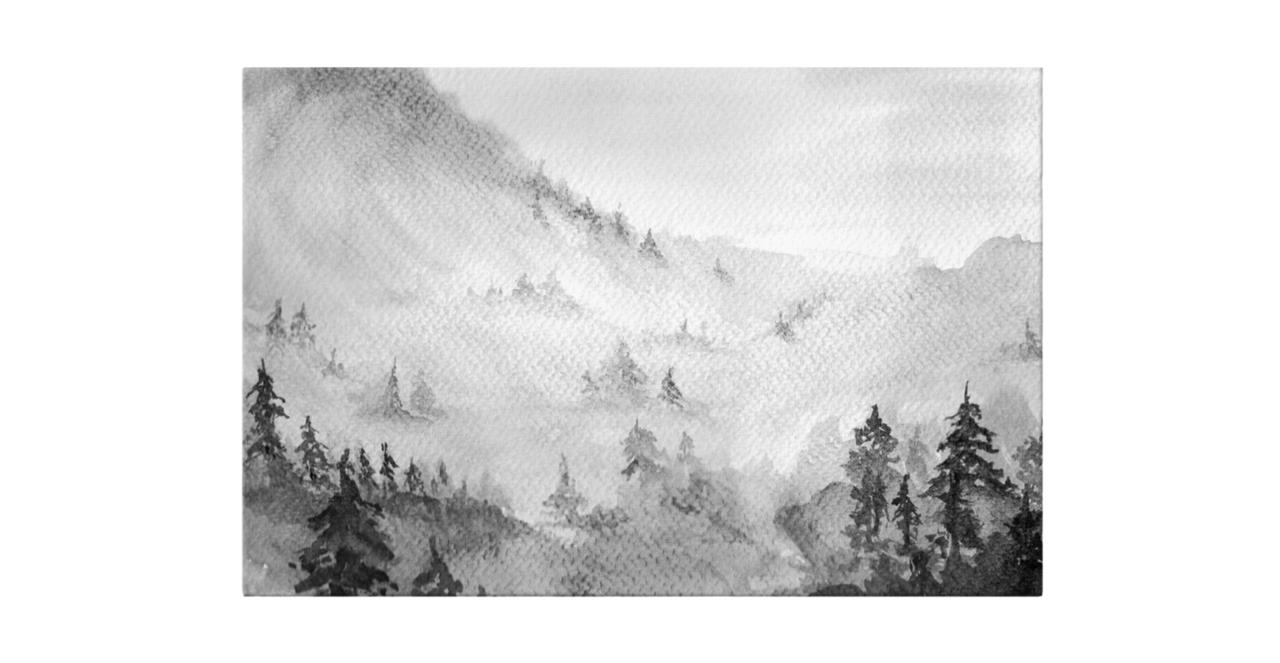 The Forest Print Canvas Medium