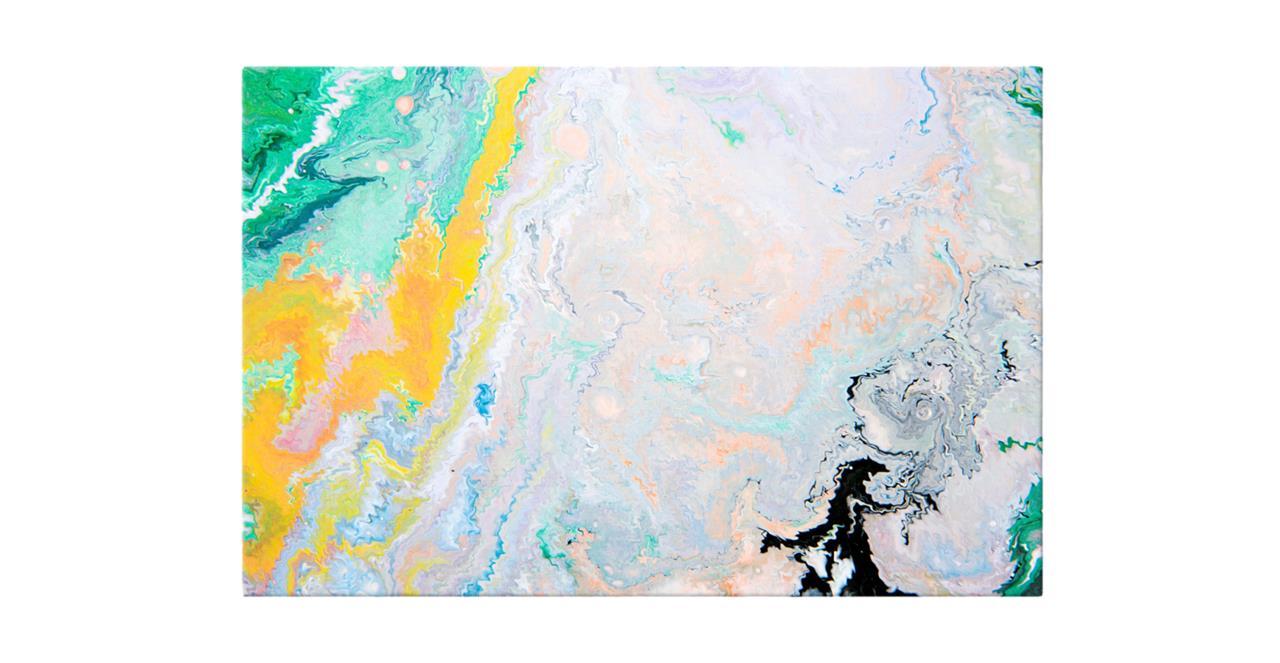 The Fragments Print Canvas Medium