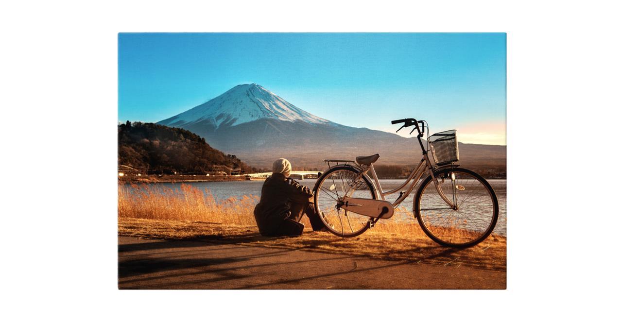 The Fuji Print Canvas Medium