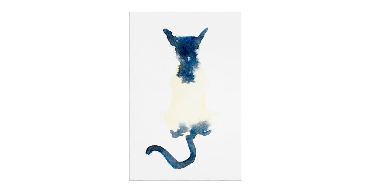 The Galaxy Cat Print Canvas Small