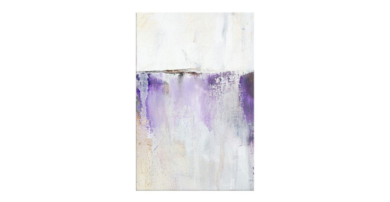 The Purple Rain Print Canvas Medium Medium