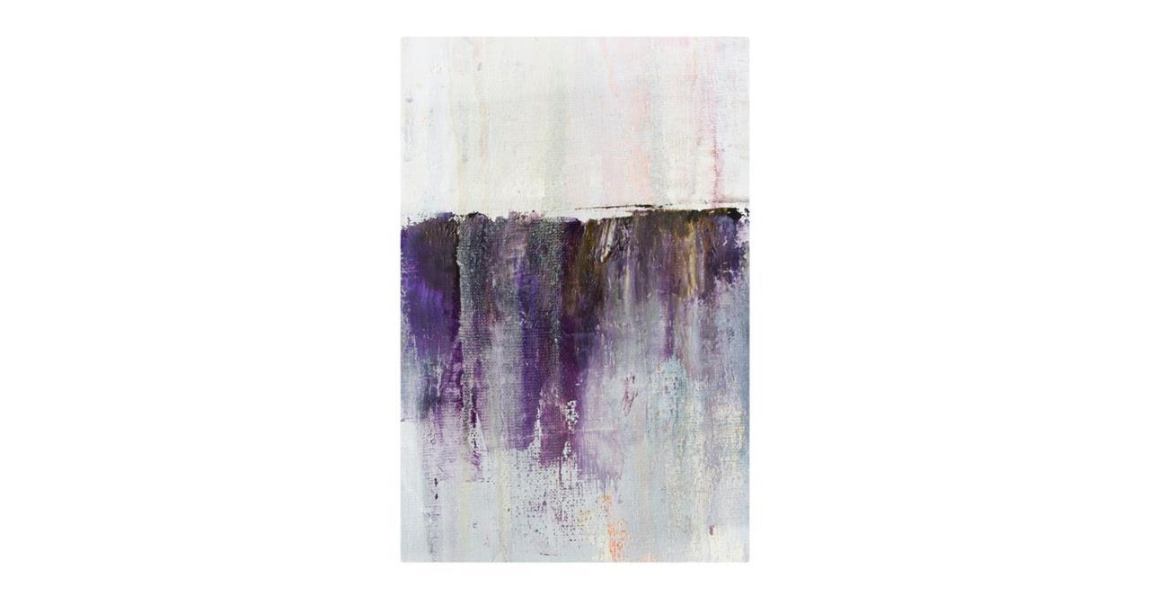 The Purple Rain Print Metal Print Small Heavy