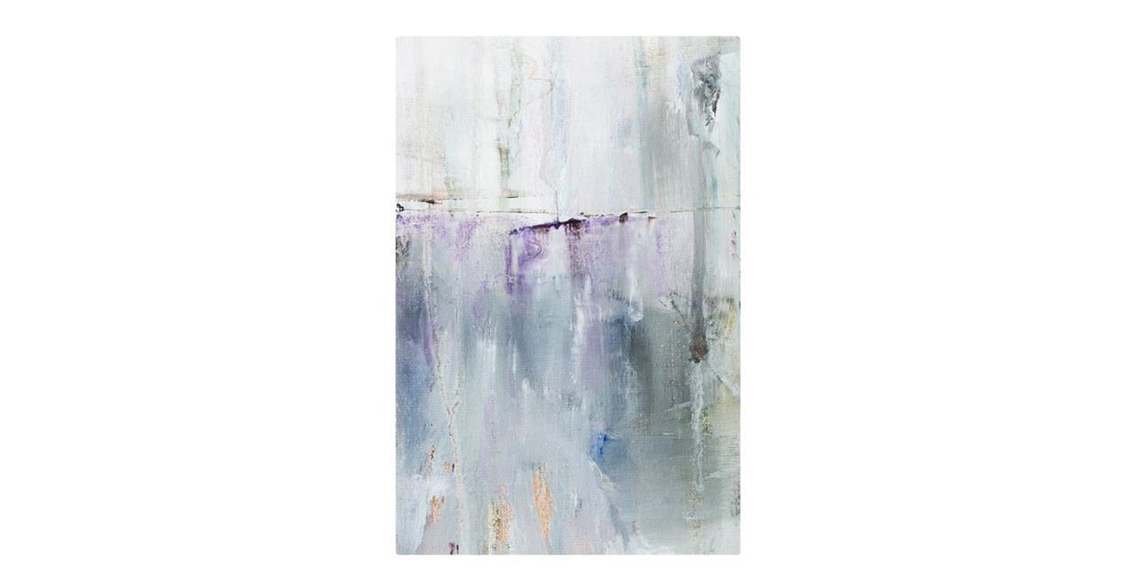 The Purple Rain Print Metal Print Small Light