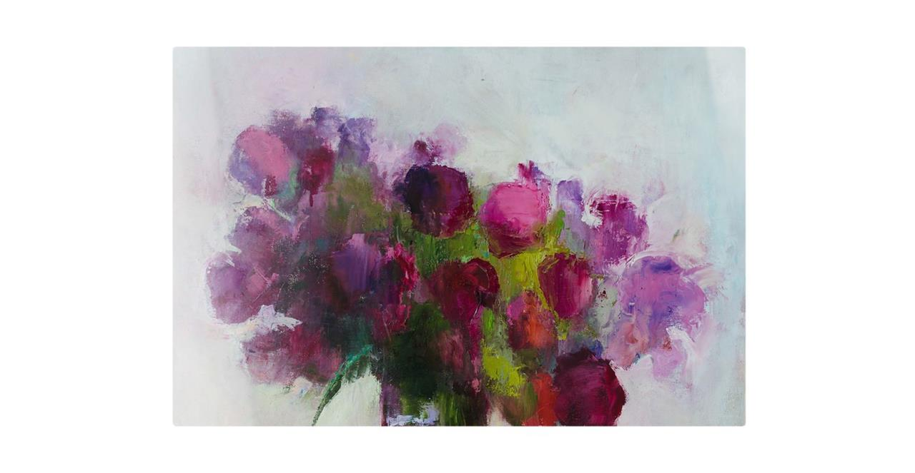 The Roses Print Canvas Small