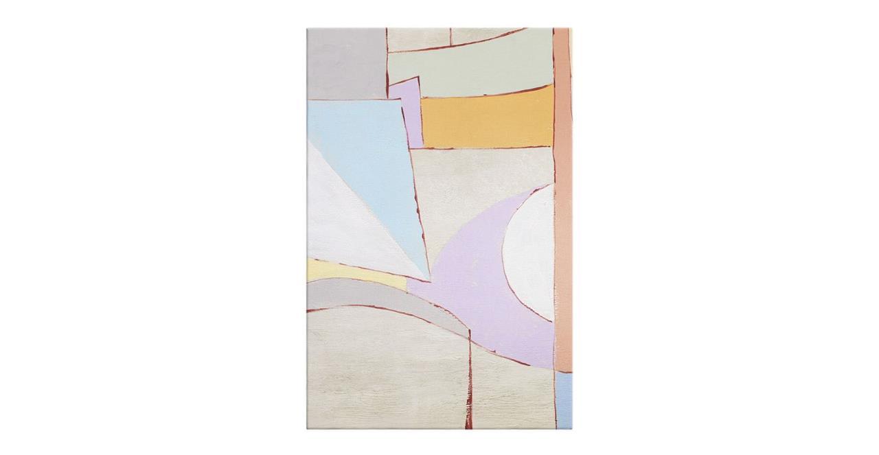 The Sorbet Print Canvas Medium Lavender