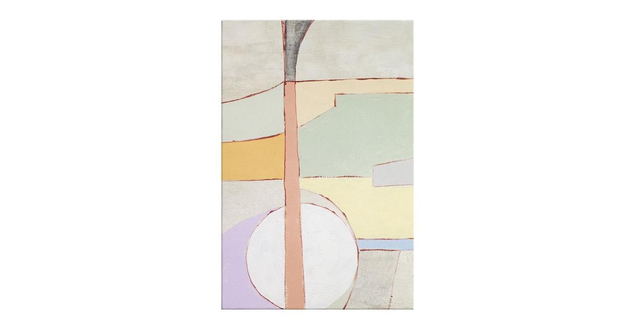 The Sorbet Print Canvas Medium Green