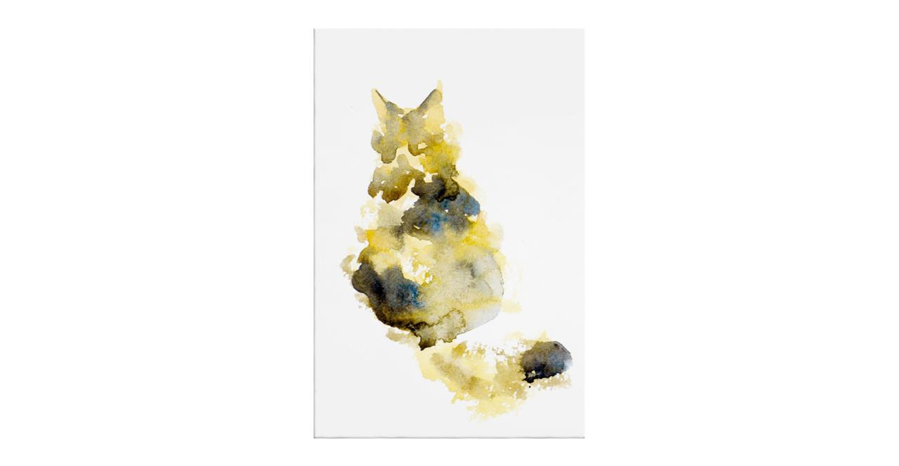 The Spectrum Cat Print Canvas Small