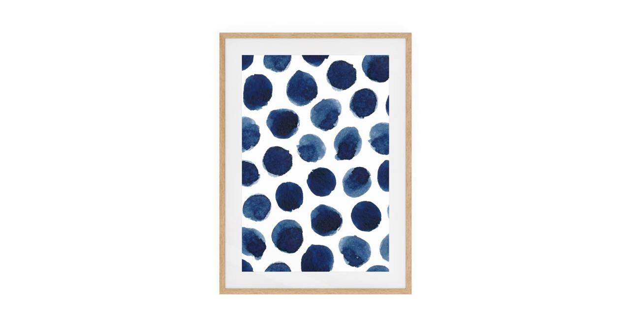 The Wabi Sabi Print Natural Wood Frame Small Impermanent