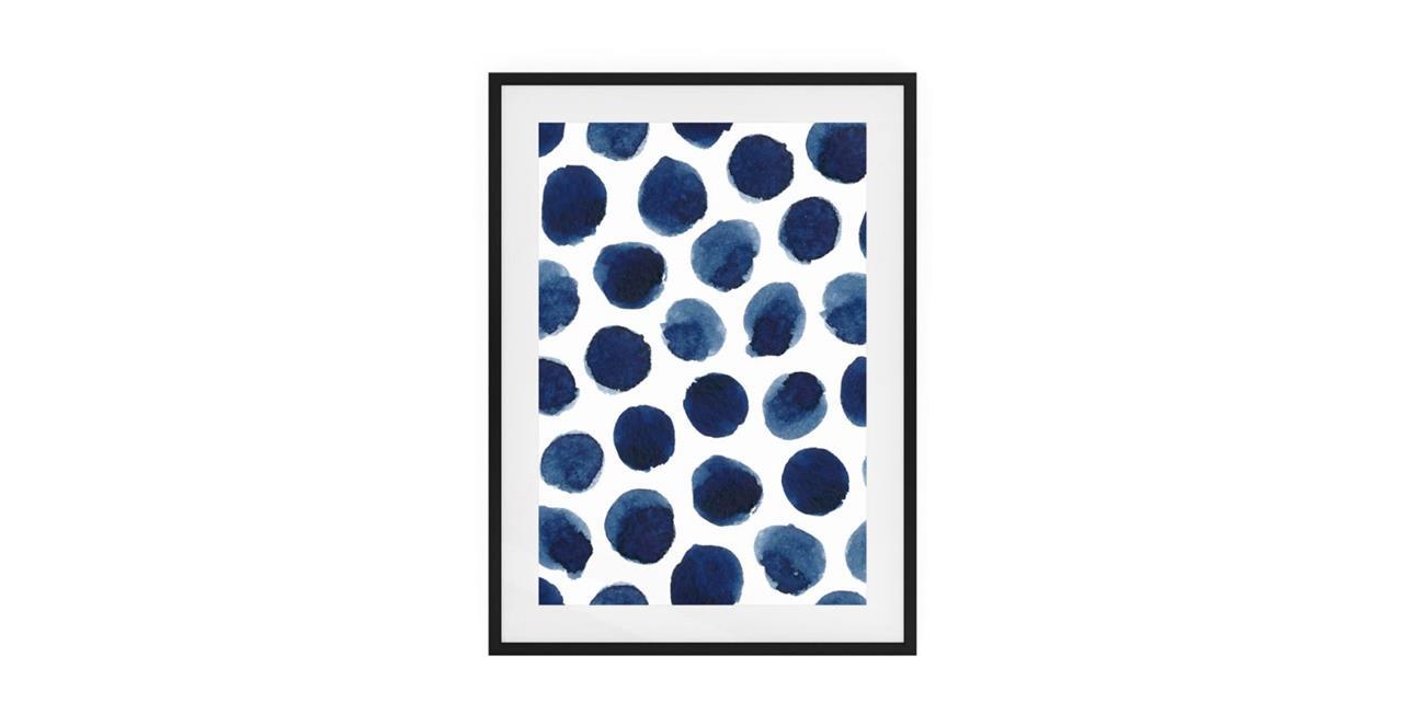 The Wabi Sabi Print Black Wood Frame Medium Impermanent
