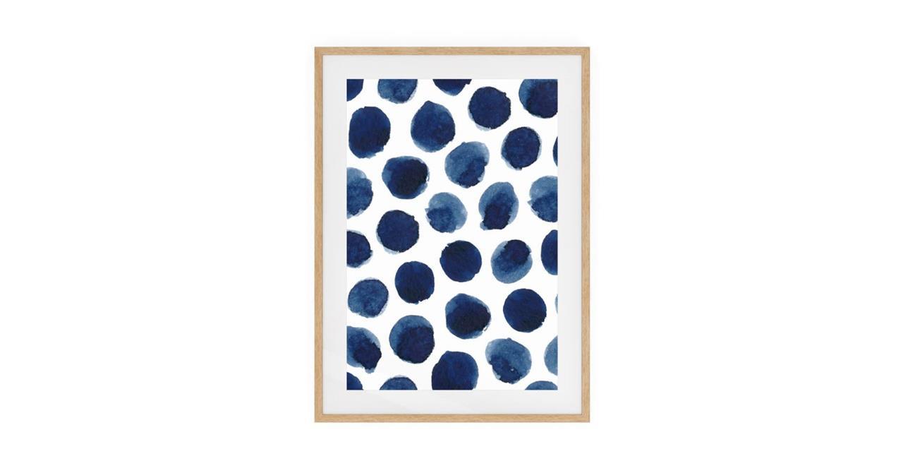 The Wabi Sabi Print Natural Wood Frame Medium Impermanent