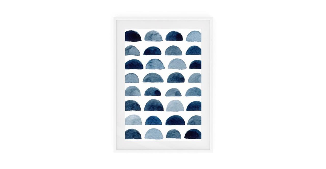 The Wabi Sabi Print White Wood Frame Small Incomplete