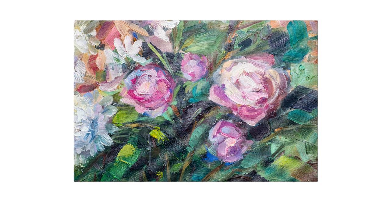 The Garden Bed Print Canvas Medium
