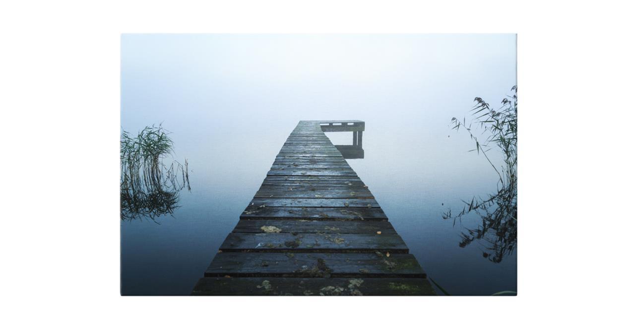 The Jetty Print Canvas Small