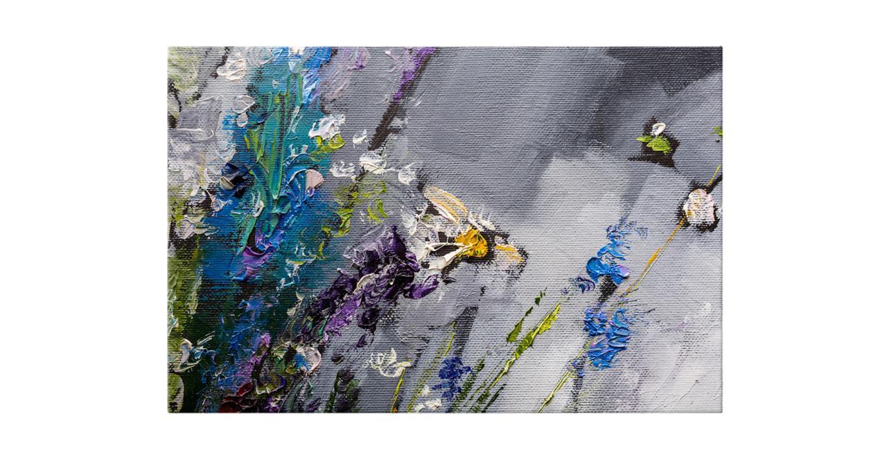 The Lavender Print Canvas Medium