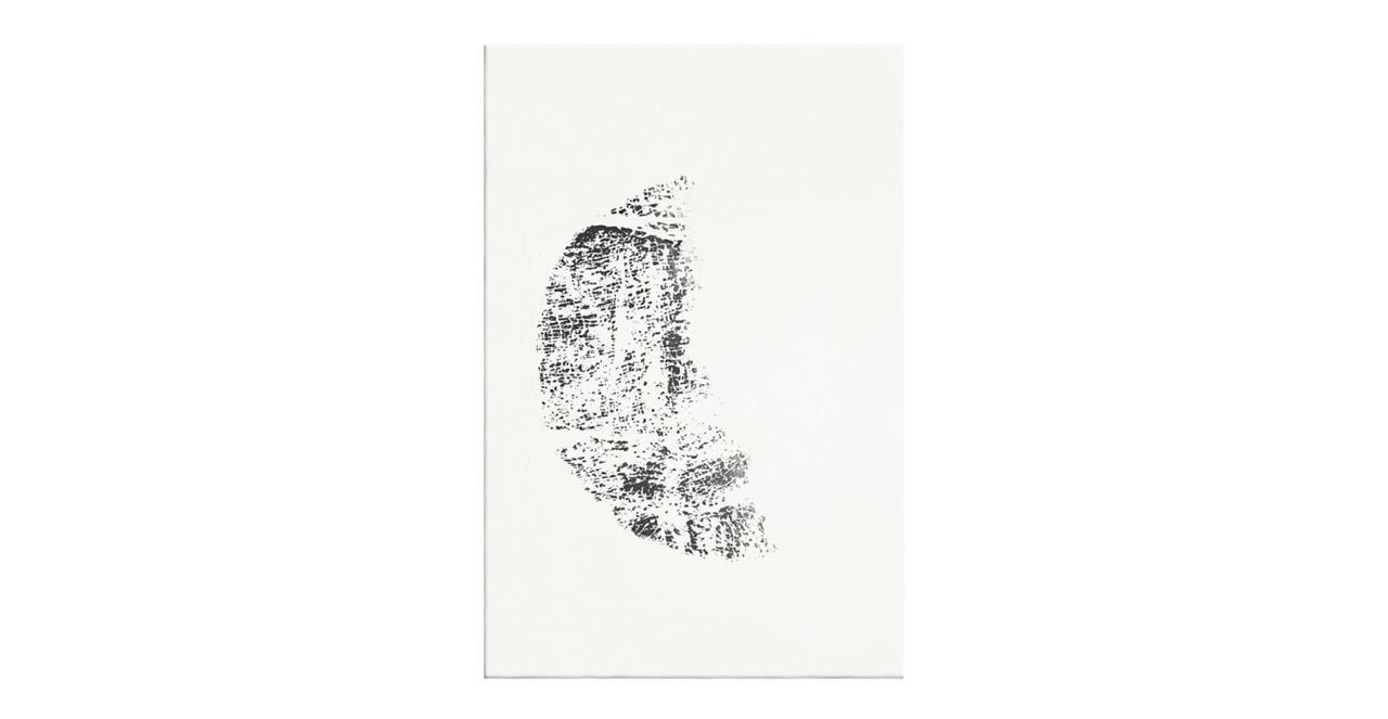 The Lunar Print Canvas Small Crescent