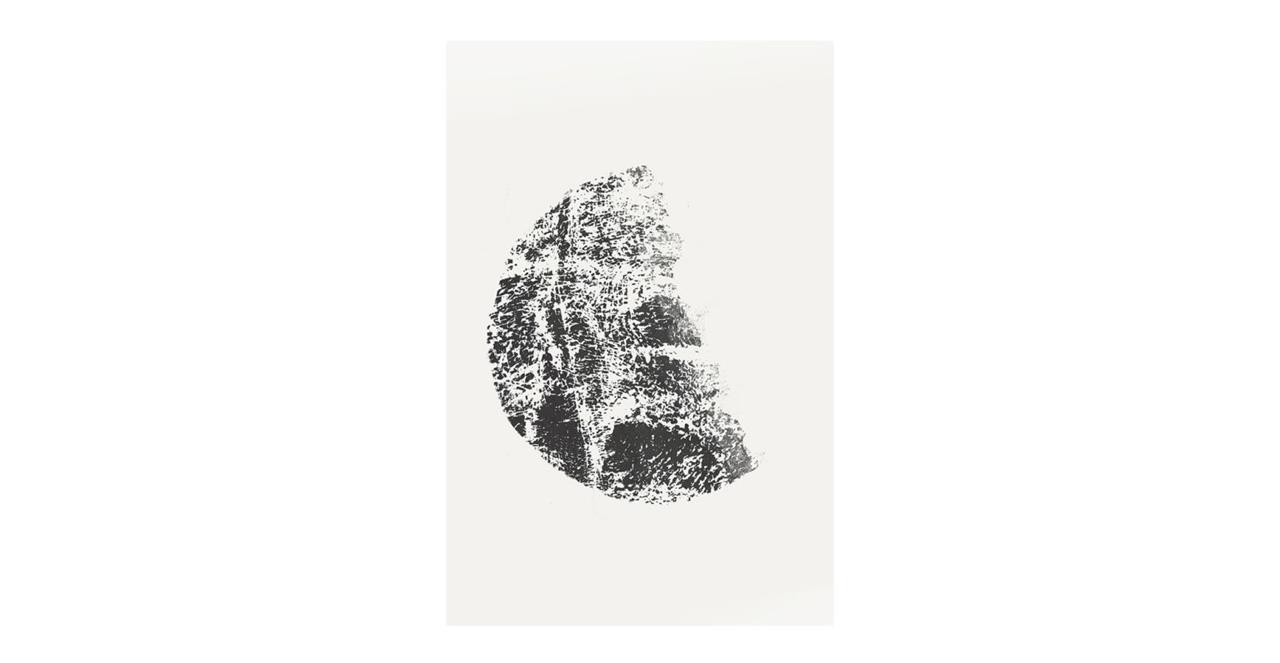 The Lunar Print Metal Print Medium Gibbous