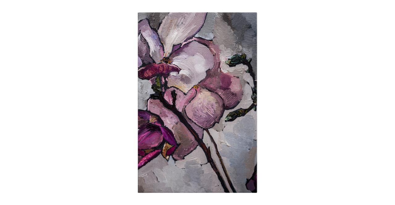 The Magnolia Print Canvas Small