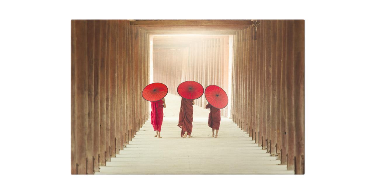 The Monks Print Canvas Medium