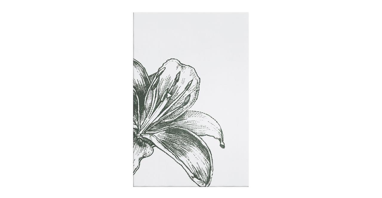 The Monochrome Print Canvas Small Lily