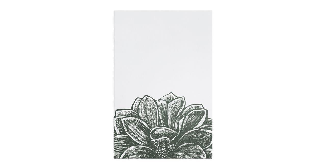 The Monochrome Print Canvas Medium Lotus
