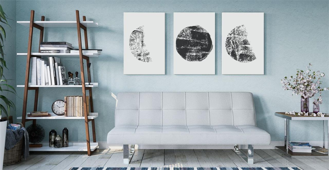 The Lunar Triptych Set of 3 Medium
